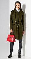 Пальто Lissana-3502, коричневые тона, 48