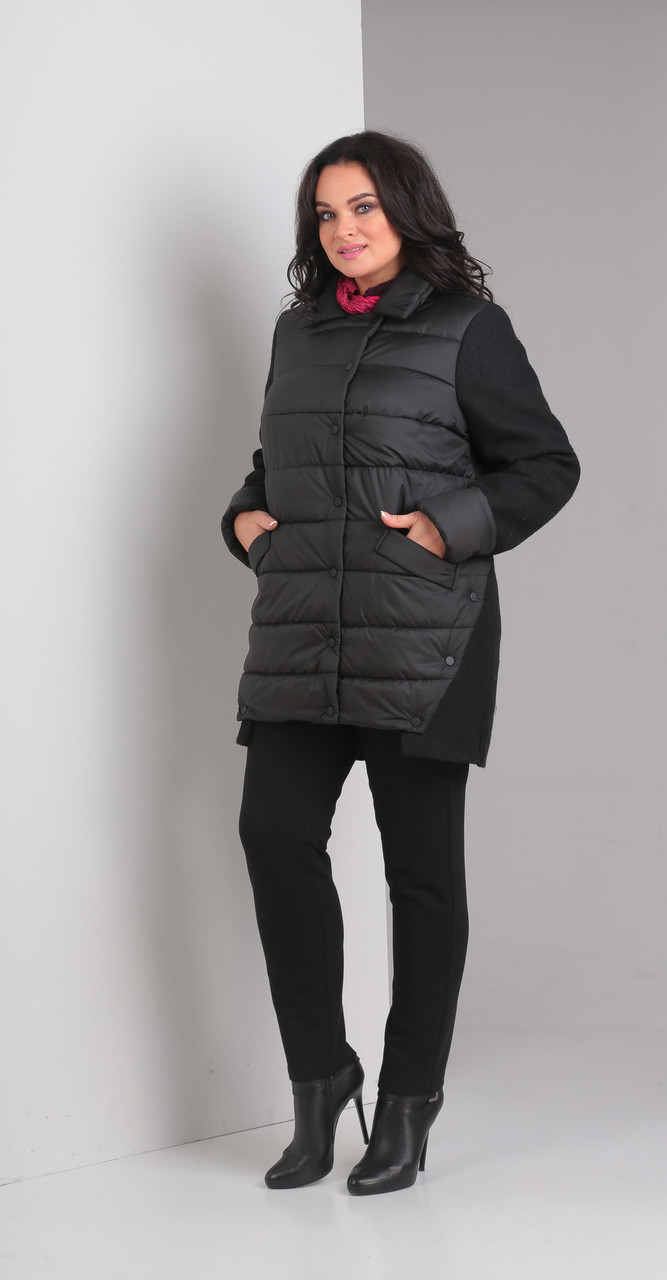 Куртка Диамант-1357, черный, 52