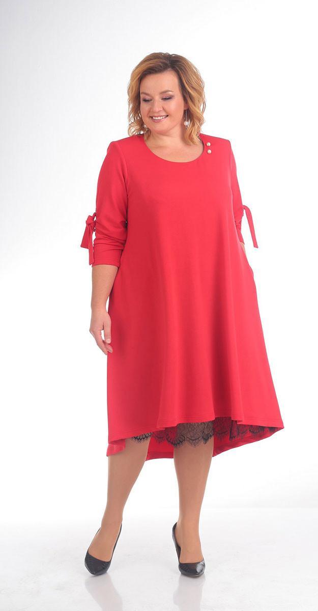 Платье Pretty-666/3, красный, 56
