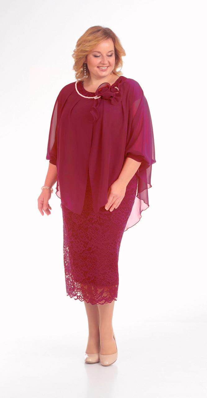 Платье Pretty-776/3, красный, 56