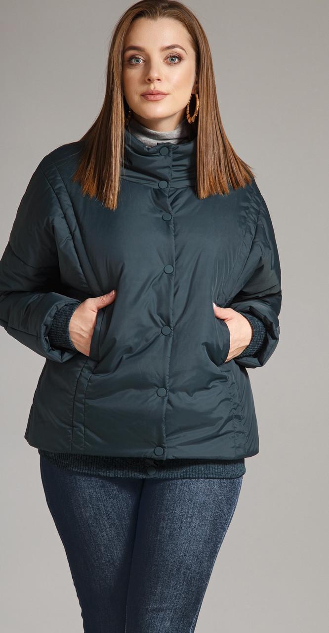 Куртка Anna Majewska-1167, темно-синий, 46