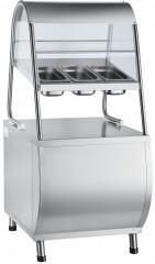 Прилавок для столовых приборов Abat ПСПХ-70М