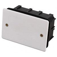 Коробка монтажная СВЕТОЗАР, макс. напряжение 400В, с крышкой, 100х60х50мм, прямоугольная