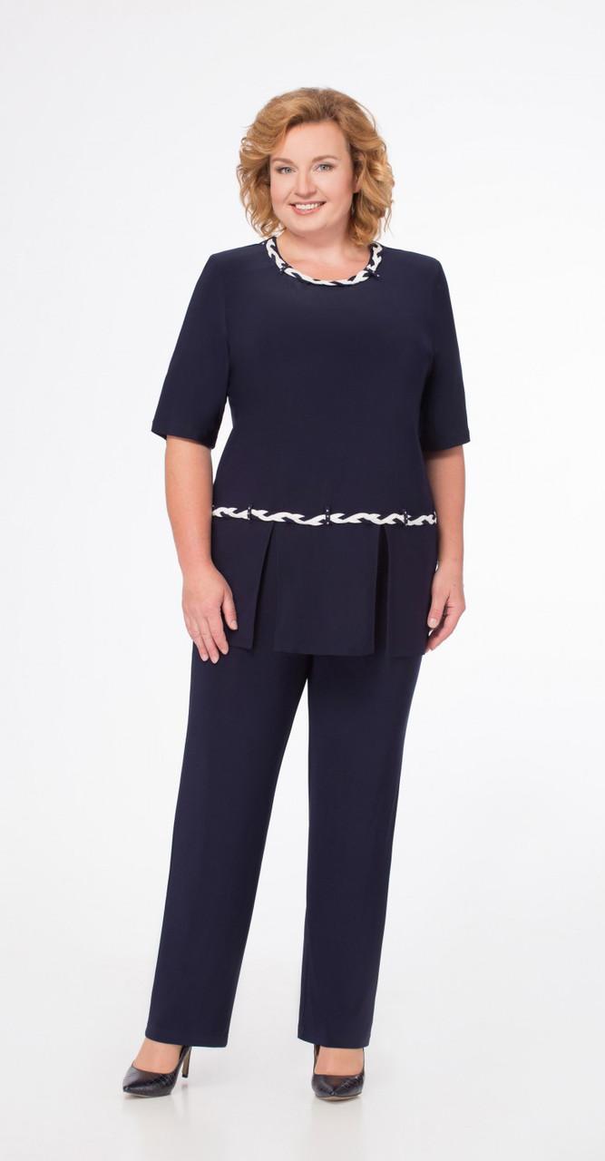 Костюм Svetlana Style-1079, темно-синий, 56
