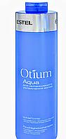 Деликатный шампунь для увлажнения волос Estel OTIUM Aqua 1000 мл., фото 1