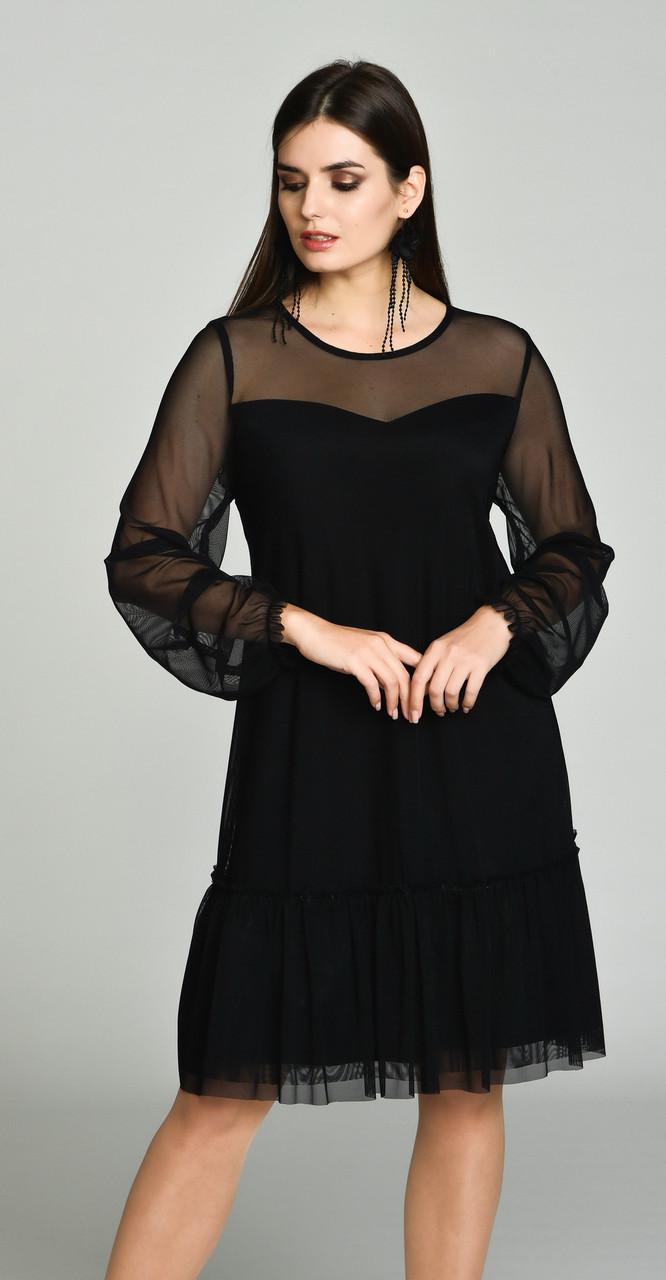 Платье Svetlana Style-1050, черный, 46