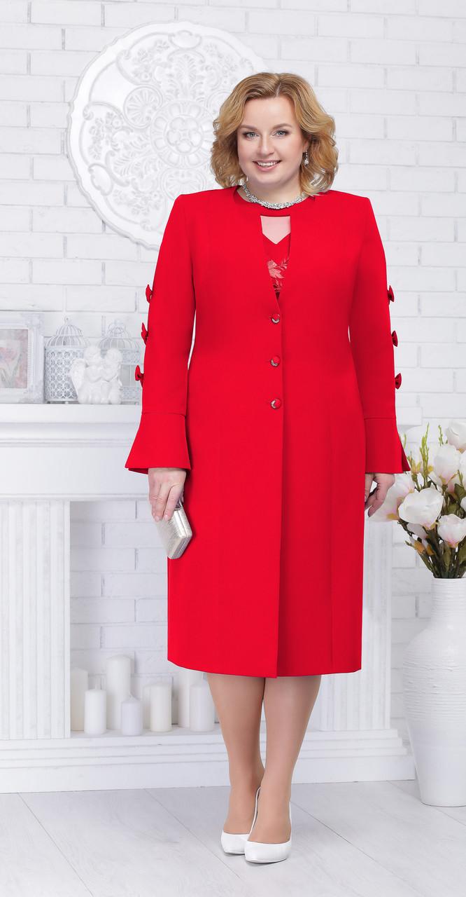 Жакет Ninele-2207, красный, 54