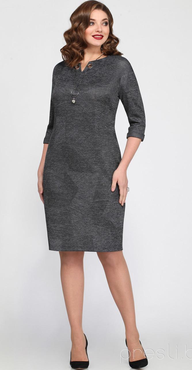 Платье Matini-31163/2, серый, 54