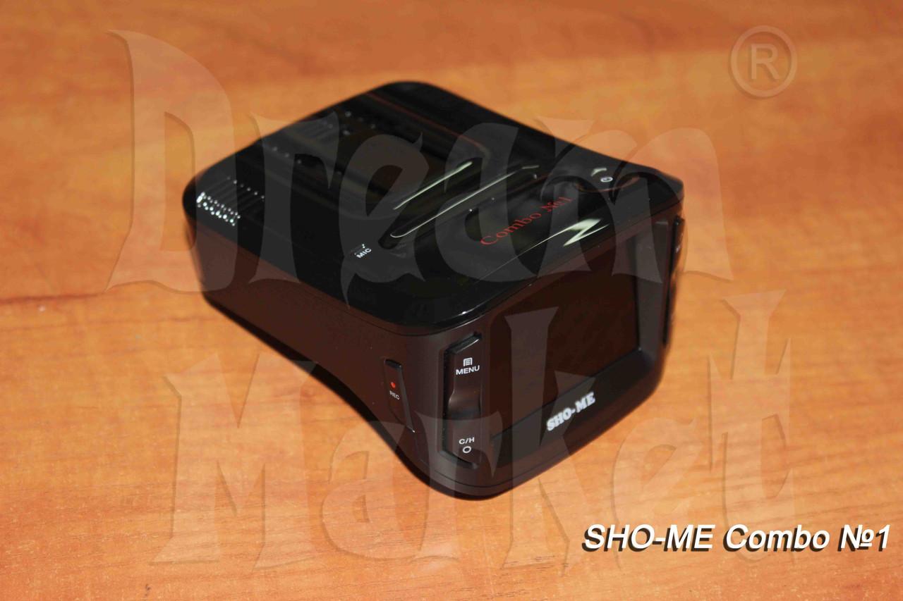 Радар-детектор видеорегистратор Sho-Me Combo 1