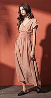 Платье Nova Line-5819, розовый, 46