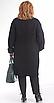 Пальто Pretty-787/1, черный, 54, фото 2