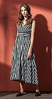 Платье Nova Line-5857, полоска, 42