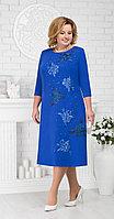 Платье Ninele-5676/1, василек, 54