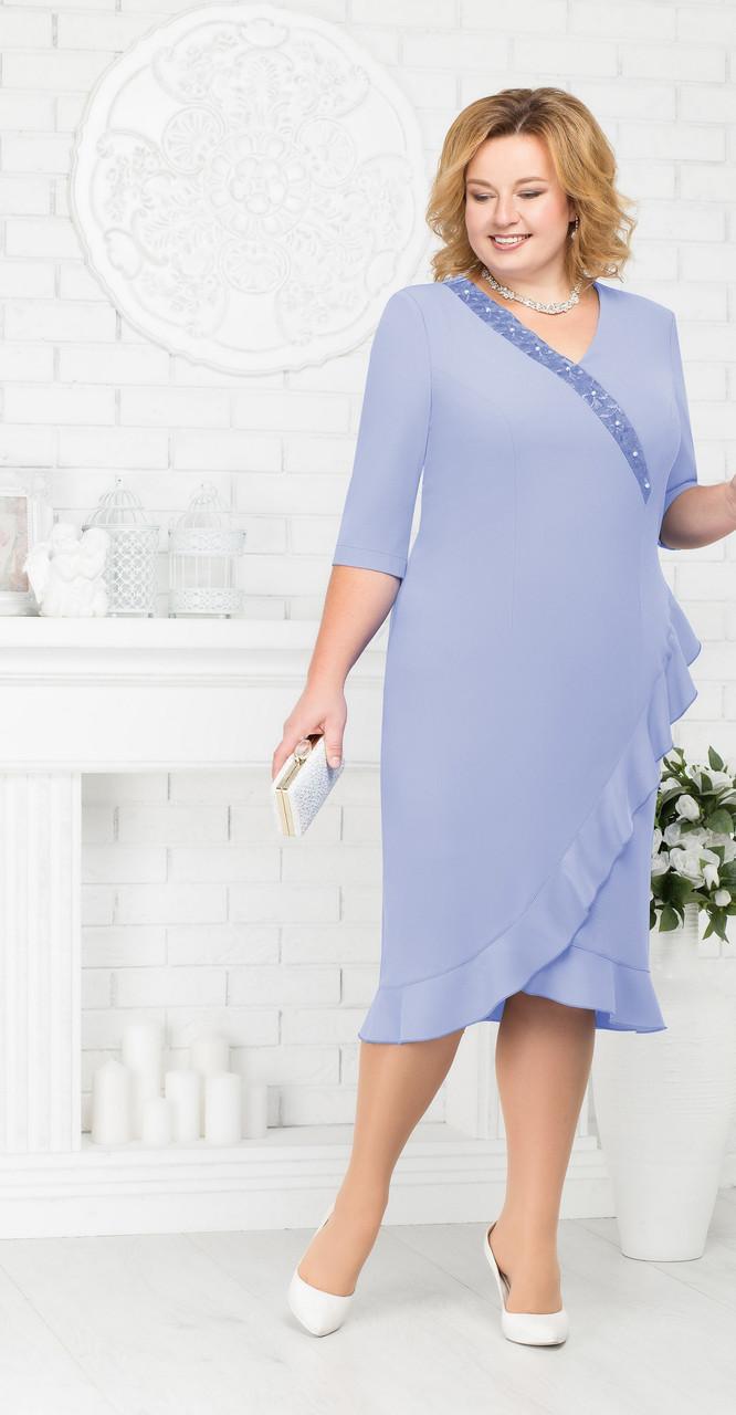 Платье Ninele-7211, голубой, 54