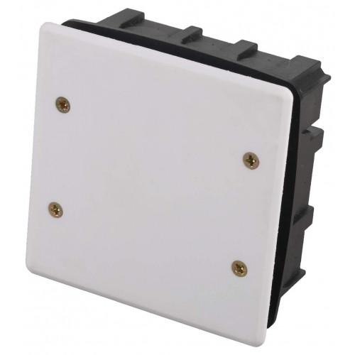 Коробка монтажная СВЕТОЗАР, макс. напряжение 400В, с крышкой, 100х100х50мм, квадратная