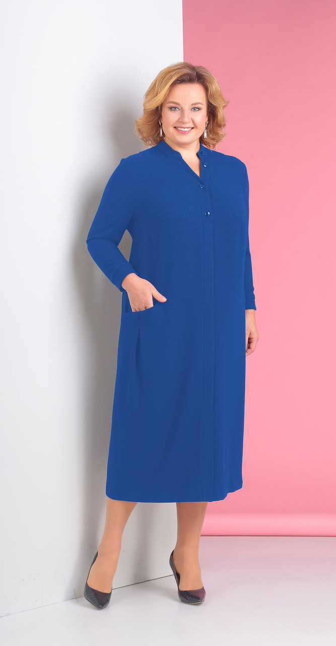 Платье Novella Sharm-3115-1, синий, 62