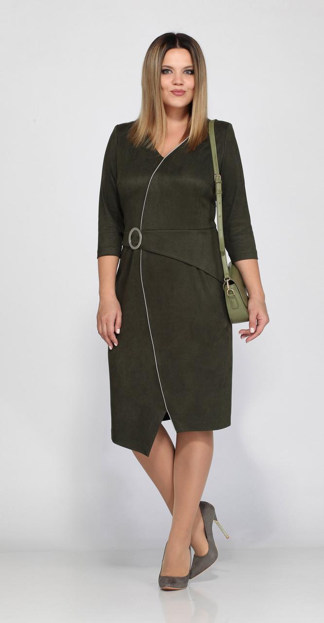 Платье Lady Secret-3546, хаки, 54