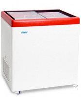 Ларь морозильный Снеж МЛП-250 красный