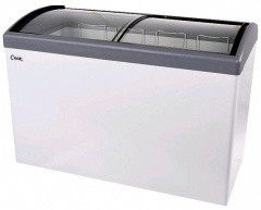 Ларь морозильный Снеж МЛГ-400 серый