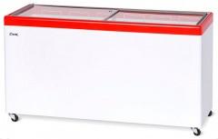Ларь морозильный Снеж МЛП-600 красный