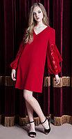 Платье Nova Line-5811, красный, 42