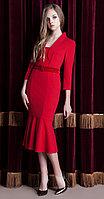 Платье Nova Line-5821, красный, 42