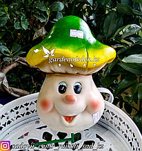 """Садовая фигура """"Веселый грибок"""", высота: см. Материал: Полистоун."""