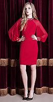 Платье Nova Line-5828, красный, 42