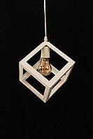 """Одноламповый светильник в стиле LOFT """"Куб"""""""