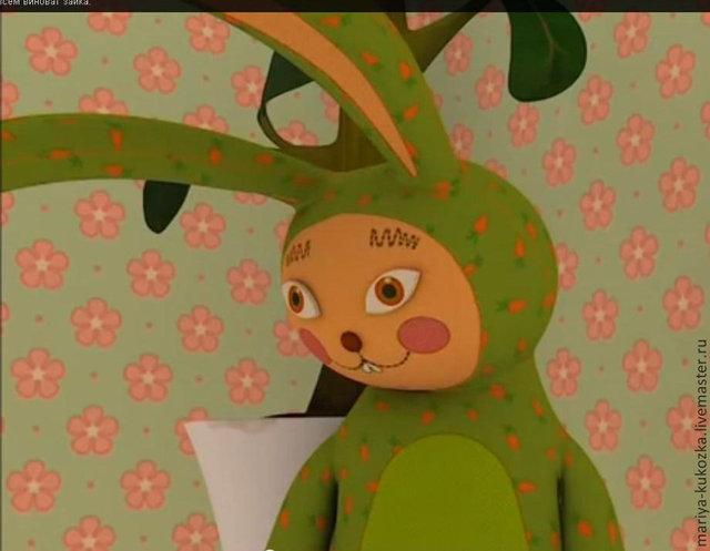 """Это заяц из мультфильма """"Барбоскины"""""""
