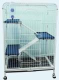 D800 Клетка для шиншиллы 3-х этаж.64х44х93 см