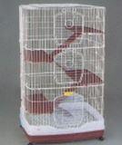 R63 Клетка для шиншиллы 4-х этаж.82,5*55*149,5 см