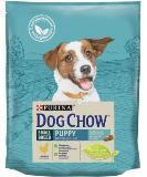 Dog Chow Puppy, Дог Чау корм для щенков мелких пород курица, пакет, 2,5 кг