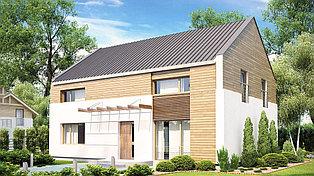 Строительство дома «под ключ» по проекту «Медея»