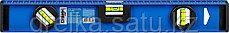 Уровень СИБИН двутавровый, 3 ампулы, измерительная линейка, 40см, фото 2