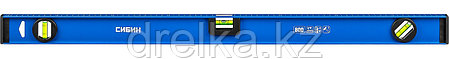 Уровень СИБИН двутавровый, 3 ампулы, измерительная линейка, 80см, фото 2