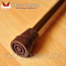 Телескопическая трость с пластиковой ручкой ручкой без УПС, фото 3