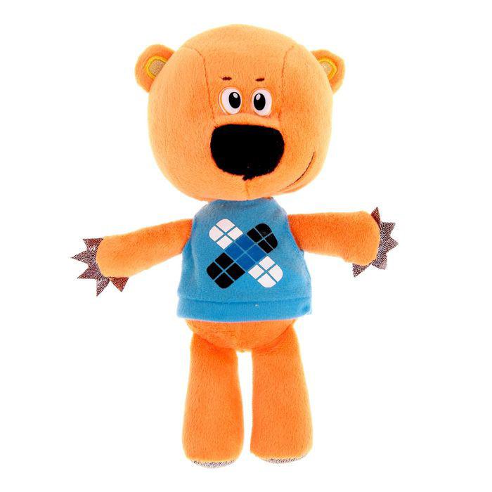 """Мульти-Пульти Мягкая игрушка """"Ми-ми-мишки"""" - Медвежонок Кешка (звук), 20 см"""