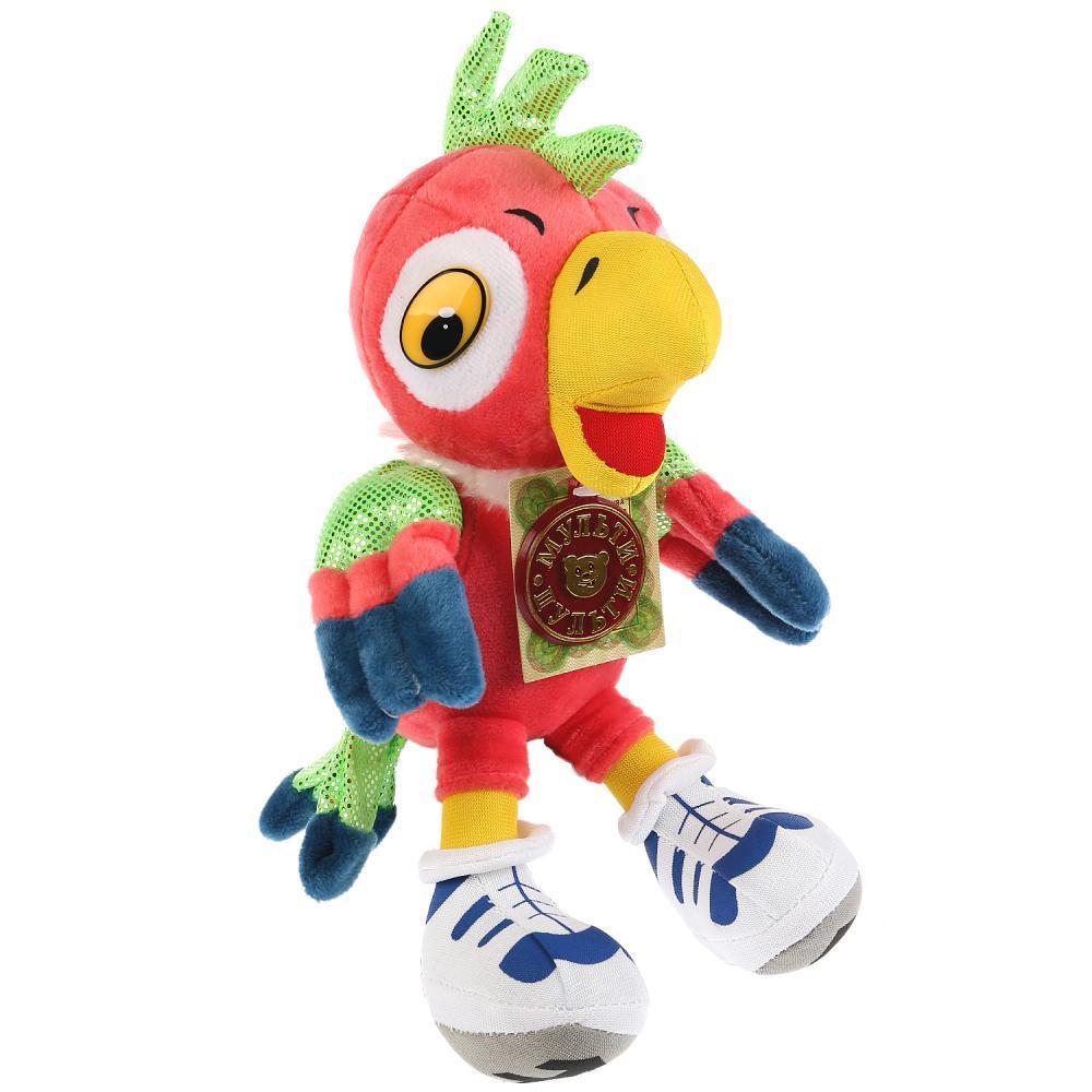 """Мульти-Пульти Мягкая игрушка """"Возвращение блудного попугая"""" - Кеша (звук), 15 см"""