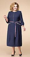 Платье Romanovich-1-1740, темно-синий, 56