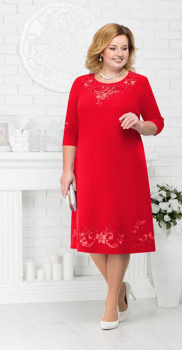 Платье Ninele-7212/1, красный, 56