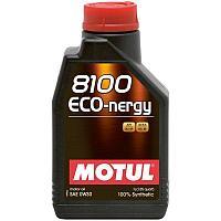 Синтетическое моторное масло MOTUL 8100 ECO-NERGY 0W-30  1 литр