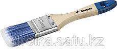 """Кисти плоские ЗУБР """"АКВА-МАСТЕР"""", искусственная щетина, деревянная ручка, фото 2"""