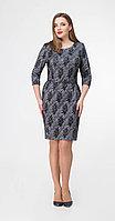 Платье Дали-520, серый, 50