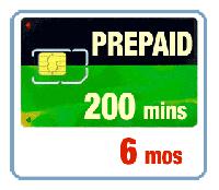 200 минут - 6 месяцев, карта оплаты Iridium