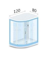 Кабины 120 х 80 см
