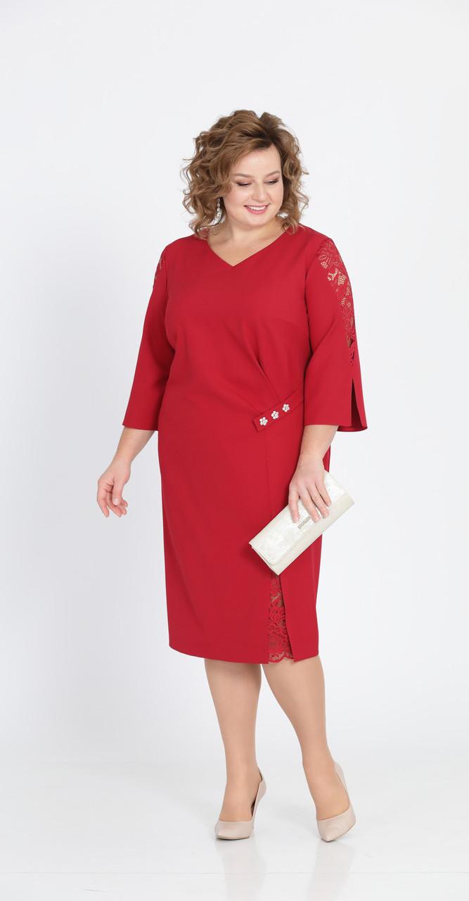 Платье Pretty-807, красный, 56