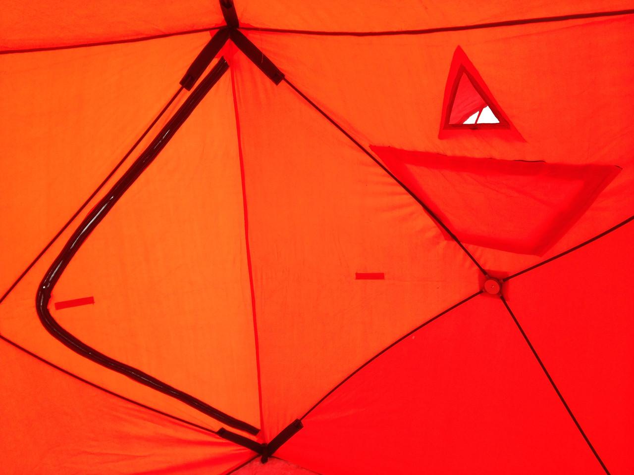 Палатка для рыбалки зимняя 420D КУБ 180 x180 и для бани - фото 2