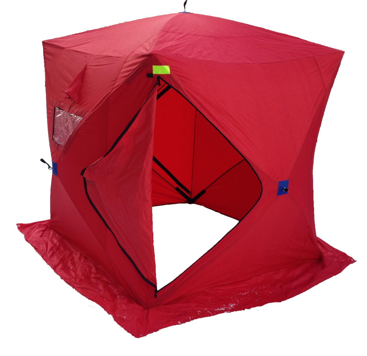 Палатка для рыбалки зимняя 420D КУБ 180 x180 и для бани - фото 1