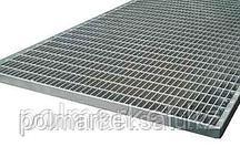 Грязезащитная стальная решетка 390/590 20мм